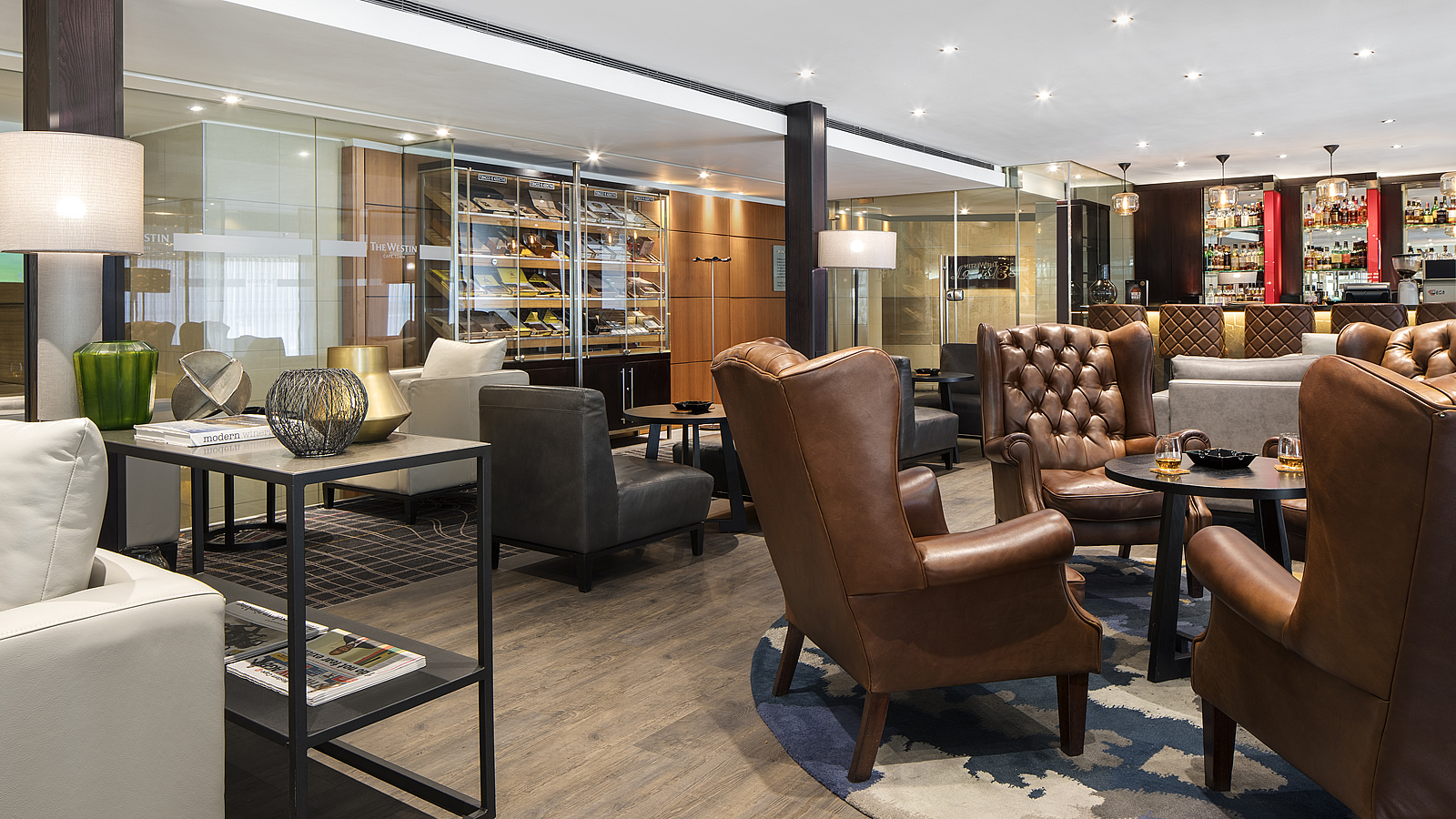Westin Cape Town Raleigh's Cigar Bar and Lounge